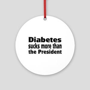 Diabetes Ornament (Round)
