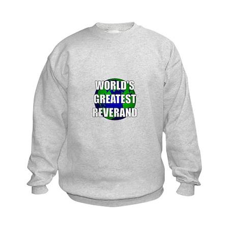 World's Greatest Reverand Kids Sweatshirt