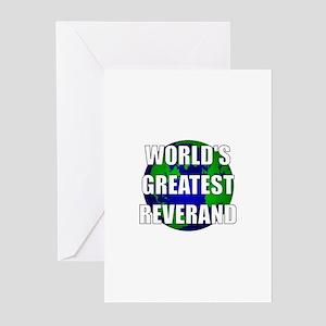 World's Greatest Reverand Greeting Cards (Pk of 10