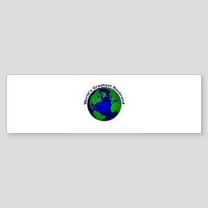 World's Greatest Reverand Bumper Sticker