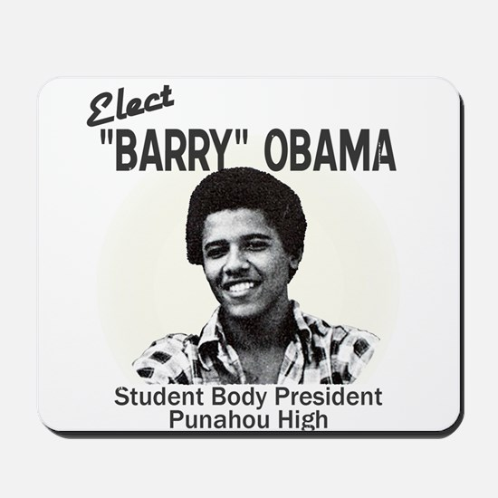 Barry Obama Mousepad