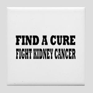 Kidney Cancer Tile Coaster