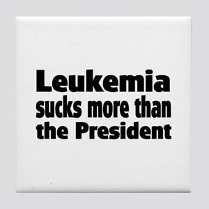 Leukemia Tile Coaster
