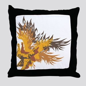 Eagle Claw Kung Fu Throw Pillow