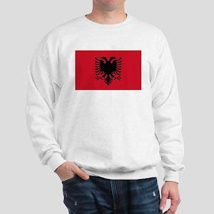 Albanian Flag Sweatshirt