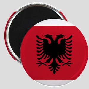 Albanian Flag Magnet