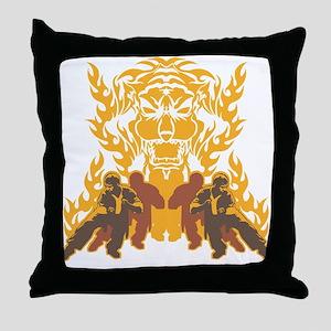 Tiger Kung Fu Throw Pillow