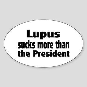 Lupus Oval Sticker