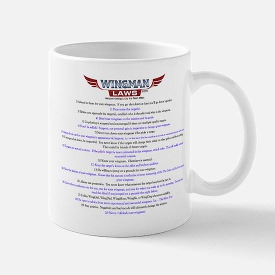 Original Wingman Laws Mug