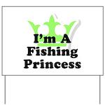 Fishing Princess 5 Yard Sign