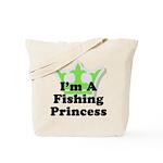 Fishing Princess 5 Tote Bag
