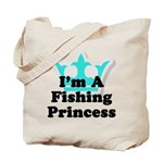 Fishing Princess 6 Tote Bag