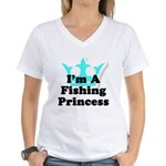 Fishing Princess 6 Women's V-Neck T-Shirt