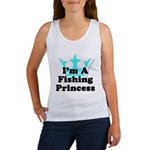 Fishing Princess 6 Women's Tank Top