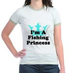 Fishing Princess 6 Jr. Ringer T-Shirt
