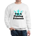 Fishing Princess 6 Sweatshirt