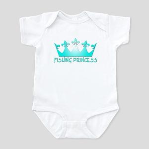 Fishing Princess 7 Infant Bodysuit