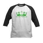 Kayak Princess 2 Kids Baseball Jersey