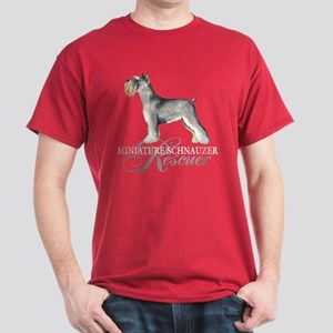 Miniature Schnauzer Rescue Dark T-Shirt