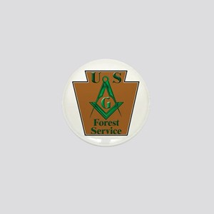Forest Service Mason Mini Button