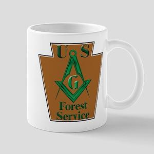 Forest Service Mason Mug