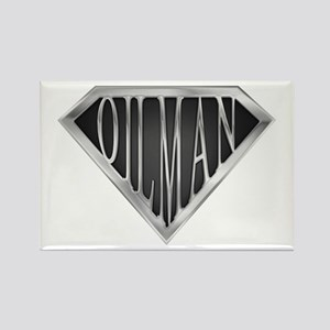 SuperOilman(metal) Rectangle Magnet