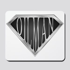 SuperOilman(metal) Mousepad