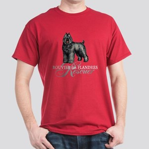 Bouvier Rescue Dark T-Shirt