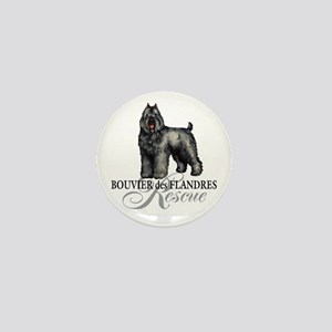 Bouvier Rescue Mini Button
