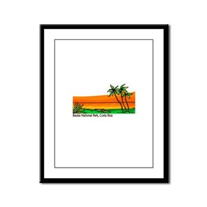 Baulas National Park, Costa R Framed Panel Print