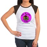 Women's Cap Sleeve T-Shirt - Silly CCLS Logo