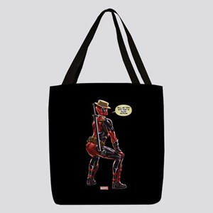 Deadpool Slow Motion Polyester Tote Bag