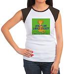 Women's Cap Sleeve T-Shirt - Wallaby CCLS Logo