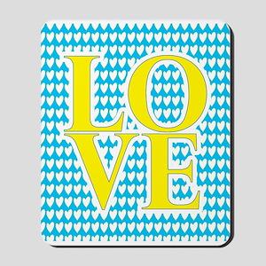 WOMEN'S LOVE 2 Mousepad