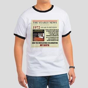 born in 1972 birthday gift Ringer T