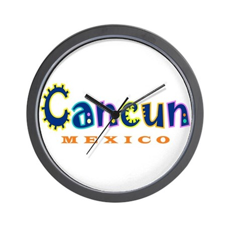 Cancun - Wall Clock