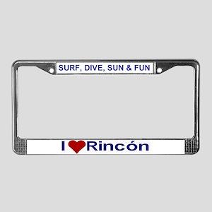 Rincon License Plate Frame