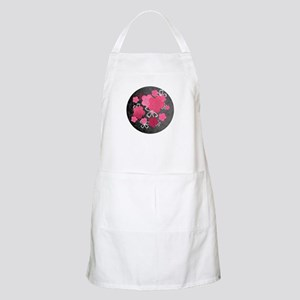 Black Blossoms BBQ Apron