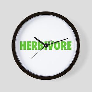 Herbivore Wall Clock