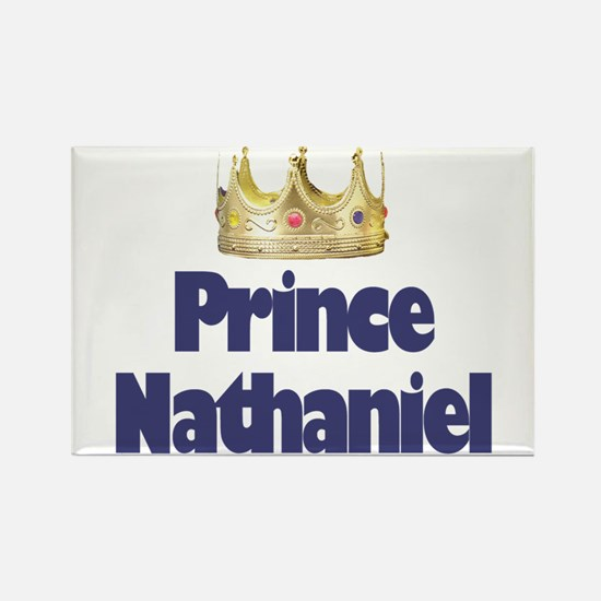 Prince Nathaniel Rectangle Magnet