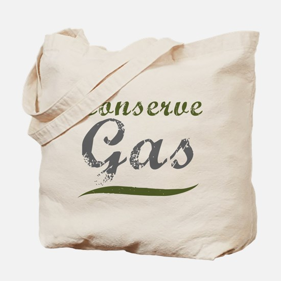 Conserve Gas Tote Bag