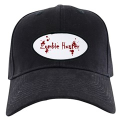 Zombie Hunter Splatters Baseball Hat