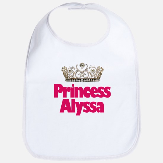 Princess Alyssa Bib