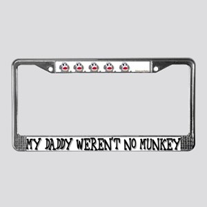 Kansas Evolution License Plate Frame