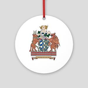 CUMBRIA Ornament (Round)
