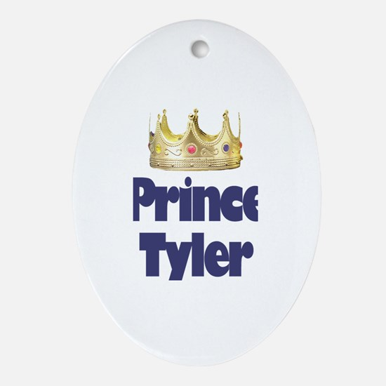 Prince Tyler Oval Ornament