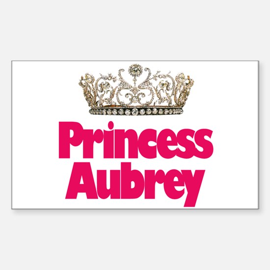 Princess Aubrey Rectangle Decal
