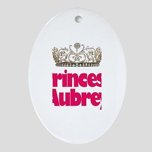 Princess Aubrey Oval Ornament
