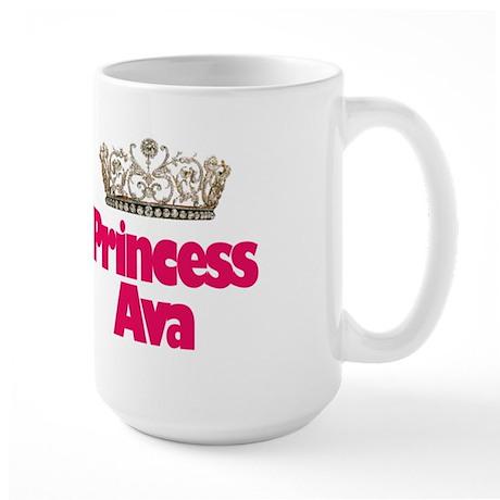 Princess Ava Large Mug
