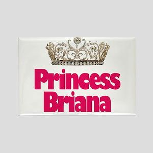 Princess Brianna Rectangle Magnet